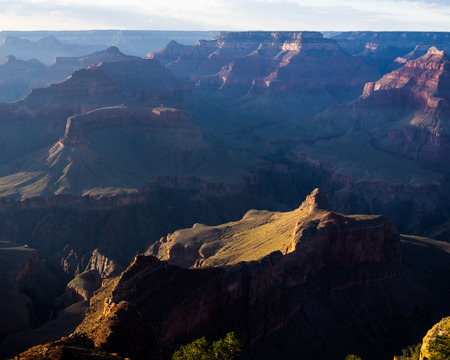 south rim: A View from the South Rim of the Grand Canyon
