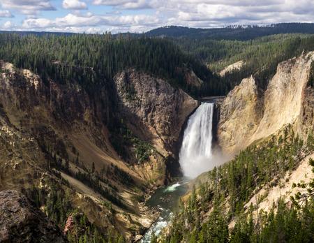 Grand Canyon of the Yellowstone Reklamní fotografie