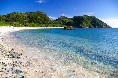 Tokashiki Island Beach Stock Photo