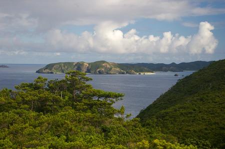 View of Tokashiki Island