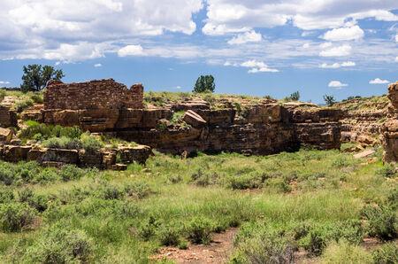 pueblo: Pueblo Ruins in Wupatki National Monument