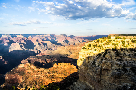 south rim: View from the South Rim of the Grand Canyon