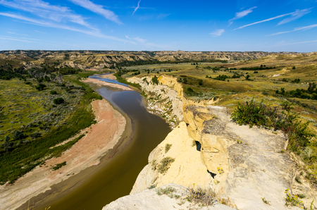 The Little Missouri River Valley photo