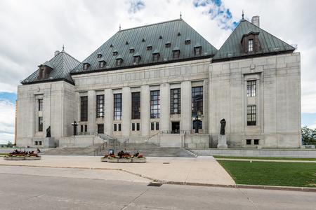 Supreme Court Building in Ottawa, Ontario, Canada