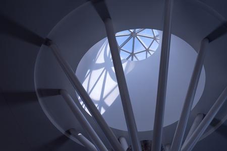 Skylight at the Salt Palic in Salt Lake City, Utah