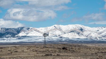 Windmill and Water Tank in Eastern Utah