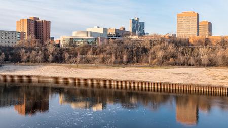 Buildings of the West Bank of the University of Minnesota in Minneapolis Reklamní fotografie