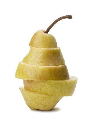 Parts pears and folded as a whole. Stock Photo - 9312208