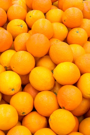 Photo is filled with ripe and fresh oranges