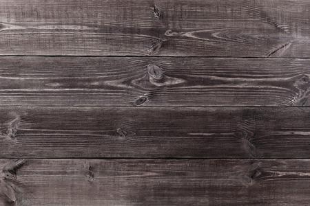 Achtergrond van houten planken zwarte kleur. Textuur. Stockfoto