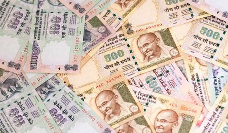 indian currency: Indian currency notes Rupees