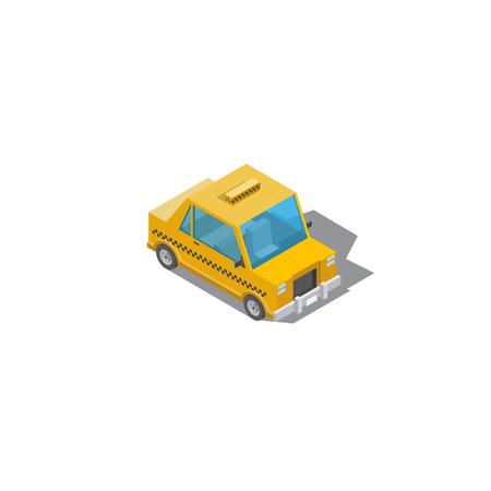 taxi illustration, drawing taxi car, design cartoon