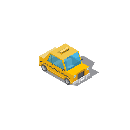 taxi illustration, drawing taxi car, design cartoon