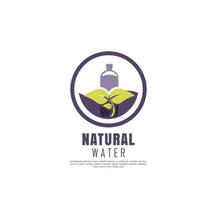 Organic farming logo design idea. Good food symbol concept. Farm fresh products unique sign or icon art.