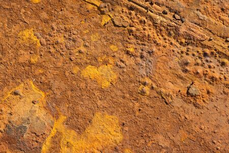 Close up of rusty metal suitable for background