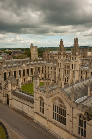 All Souls College, one of the constituent colleges of the University of Oxford
