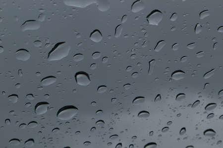 Regen op een venster