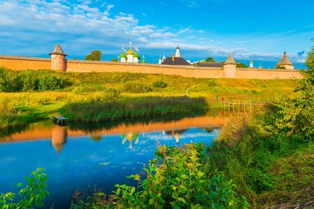 Cityscape of Suzdal. The famous Russian town, part of The Golden Ring of Russia