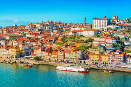 Cityscape of Porto (Oporto), Portugal 版權商用圖片