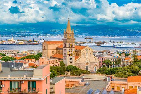 Cityscape of Messina, Sicily, Italy Stockfoto