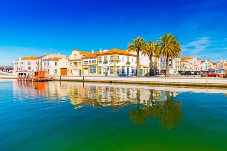 Cityscape of Aveiro, a small beautiful town in Portugal, also known as Stockfoto