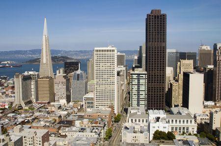 daytime: Spectacular daytime view of San Francisco, California