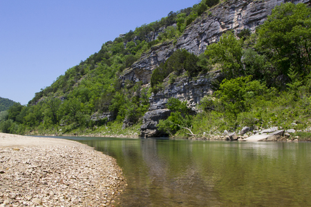 Scenic Buffalo River Wilderness in Arkansas