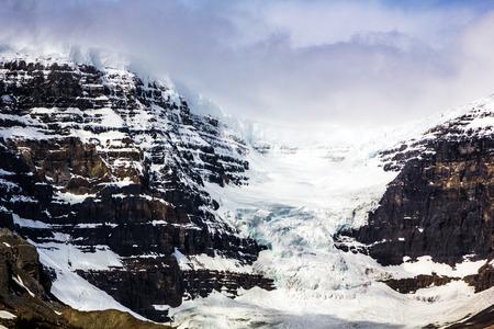 Athabasca Glacier, Columbia Ice Field, Alberta, Canada Stock Photo