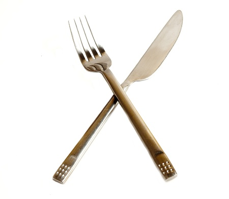 Knife and fork - a typical symbol of restaurants and bars