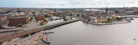 Stockholm Panorama seen from the city believes the town hall Stock Photo - 14589961