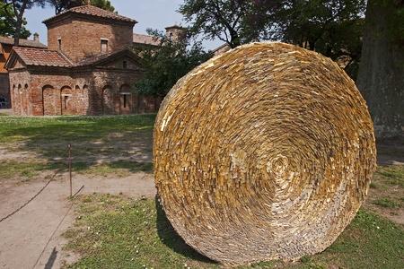 Medieval mausoleum in Ravenna Galli Placydii