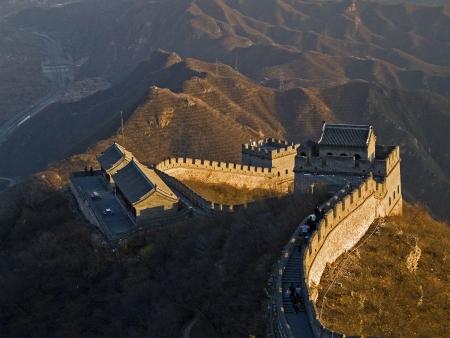 badaling: Frammento della Grande Muraglia si trova a Badaling.