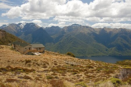 View from the hut on the Kepler Track