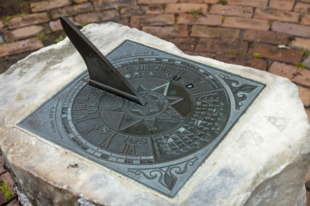 Sundial is a common pride in the many parks in the world