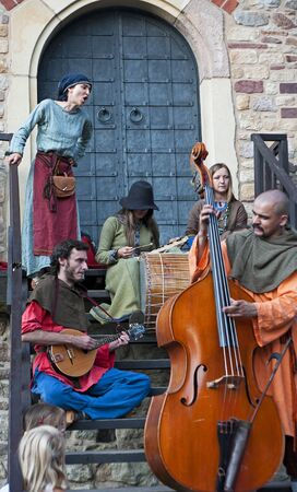 Medieval music band