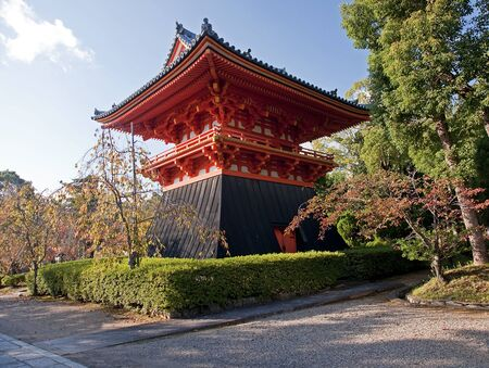 shinto: Shinto temple in Kyoto Editorial
