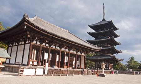 storied: Big Pagoda in Nara