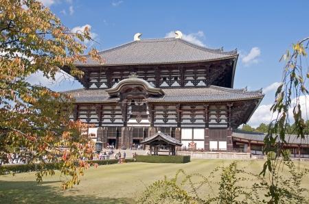 Todai-ji temple in Kyoto, Japan