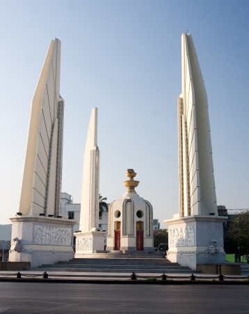 Big Democracy Monument in Bangkok - Thailand photo