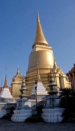 Grand Palace and Wat Phra Kaeo in Bangkok - Thailand