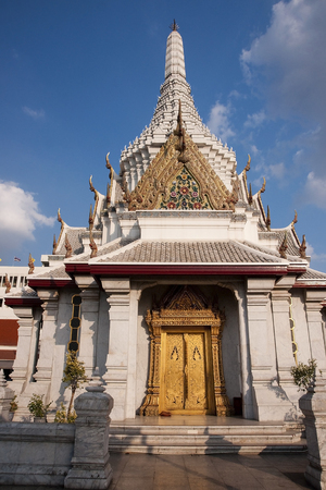 City pillar shrine in Bangkok - Thailand photo