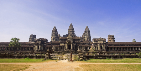View from the rear entrance to Angkor Wat - Cambodgia