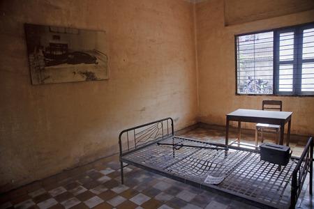 Tuol Sleng  S21  Prison in Phnom Penh - Cambodia Editorial
