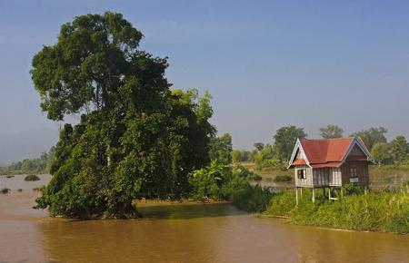 det: Cottage on the island around Don Det - Laos