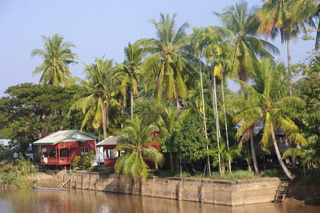 riverine: Cottage on the River Mekong in Don Khon - Laos