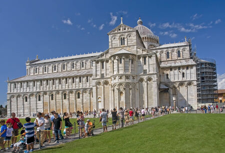 Cathedral in the field of miracles in Pisa - Italy