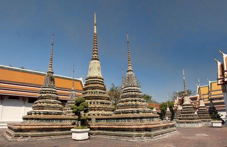 Wat Pho - Bangkok, Thailand Stock Photo