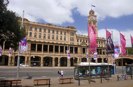 SYDNEY, AUSTRALIA - DECEMBER 17, 2014: The building