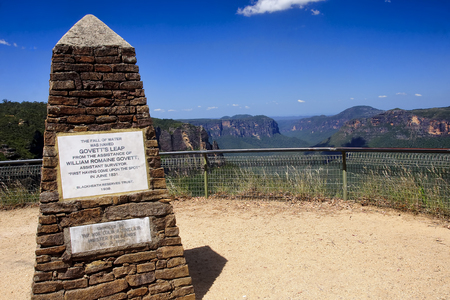 Blue Mountain are frequently visited place situated near Sydney