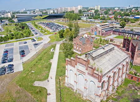 industrial heritage: New Silesian Museum is located in the buildings of an old coal mine. The Silesian Museum is the largest regional museum in Katowice.